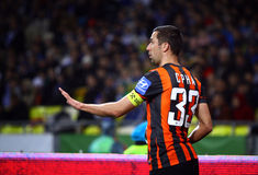 Dario Srna of FC Shakhtar Donetsk Royalty Free Stock Images