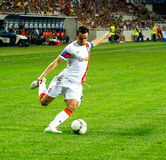 Dario Srna, Shakhtar captain Royalty Free Stock Photography