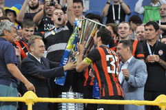 Dario Srna and Super Cup Ukraine Royalty Free Stock Photography