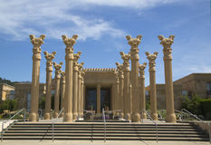 Darioush Winery in Napa Valley Stock Photo