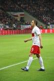 Dariusz Dudka (AJ Auxerre) Royalty Free Stock Images