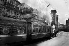 """Darjeeling """"Toy Train"""" Royalty-vrije Stock Foto's"""