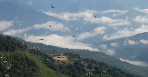 Darjeeling da parte superior foto de stock
