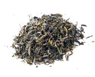 Darjeeling first flush black Indian tea. Isolated Royalty Free Stock Photography