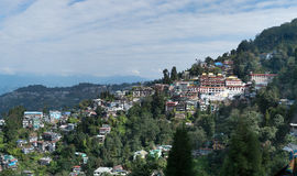 Darjeeling hill town Royalty Free Stock Image