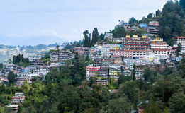 Darjeeling hill town Stock Photography