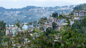Darjeeling hill town Royalty Free Stock Images