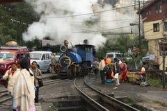 darjeeling himalayan järnväg Arkivbild