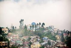 Darjeeling Indien arkivbilder