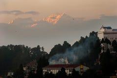 Darjeeling krajobraz Obrazy Stock