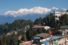 Darjeeling Landscape Royalty Free Stock Photos
