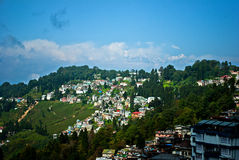 Darjeeling Landscape Royalty Free Stock Images