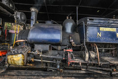 Darjeeling steam train. Famous Darjeeling steam train was Built between 1879 and 1881 and now is World Heritage Site by UNESCO, India Stock Photography