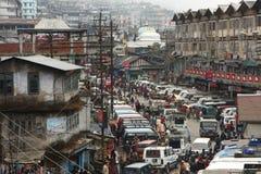 Darjeeling town, eastern Himalayas Royalty Free Stock Photo