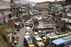Darjeeling town, India Stock Image