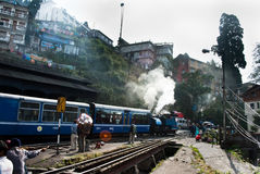 Darjeeling Toy Train Stock Afbeelding