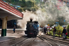 Darjeelingen Toy Train Royaltyfri Foto