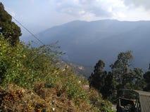 Darjeelingsmening royalty-vrije stock afbeelding