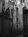 Dark. An old palace in Venice Stock Images
