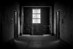 Dark and abandoned place Royalty Free Stock Images