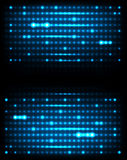 Dark abstract background. Dark abstract background with glowing lights Royalty Free Stock Photography