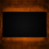 Dark abstract background. Black and Orange color Stock Images