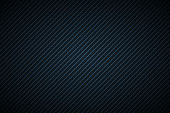 Dark abstract background with blue and black slanting lines. Striped pattern, parallel lines and strips, diagonal carbon fiber, vector illustration royalty free illustration
