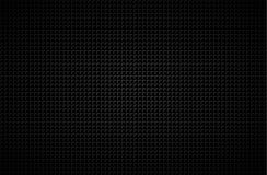 Dark abstract background with grey corners, carbon fiber. Vector illustration Stock Images