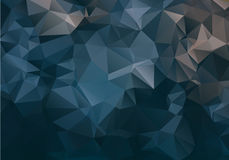 Dark abstract background polygon Royalty Free Stock Images