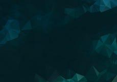 Dark abstract background polygon Stock Photos