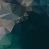 Dark abstract background polygon Royalty Free Stock Photography
