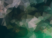 Dark abstract background polygon Stock Images