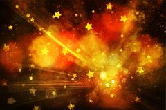 Dark abstract blurred firework background Royalty Free Stock Photos