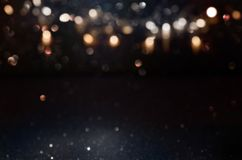 Dark abstract bokeh background Royalty Free Stock Image