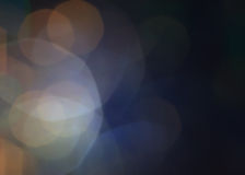 Dark Abstract Defocused Bokeh twinkling lights Vintage backgroun Stock Photo