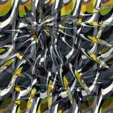 Dark abstract geometric background vector illustration grunge effect Stock Photos