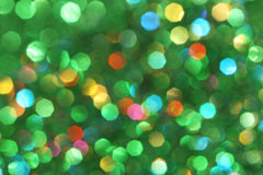 Dark abstract green, red, yellow, turquoise glitter background christmas tree-abstract background Stock Photo