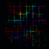 Dark abstract maze background Royalty Free Stock Photos