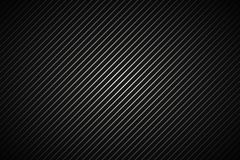 Dark abstract metallic background, black and grey striped patter royalty free illustration