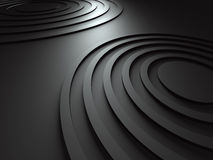 Dark Abstract Round Design Background Stock Photos