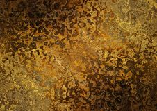 Dark abstract rusted background Royalty Free Stock Photos