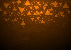 Dark abstract tech background Stock Photo