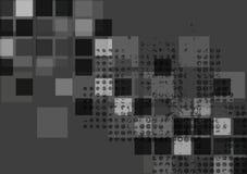 Dark abstract tech vector background Royalty Free Stock Photos
