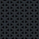 Dark abstract vector background with a metal grid. Stock Photo