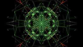 Dark abstraction of clockwork, steampunk design. Silk symmetry series vector illustration