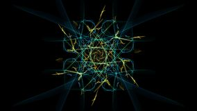 Dark abstraction of clockwork, steampunk design. Silk symmetry series royalty free illustration