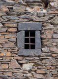 Dark age prison window Royalty Free Stock Photography