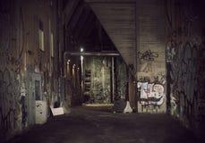 Dark alley Stock Photos