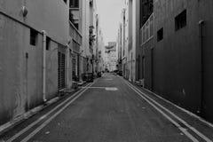 Dark Alley Stock Photo
