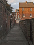 Dark Alley. Darkened alley way in a town Royalty Free Stock Photography